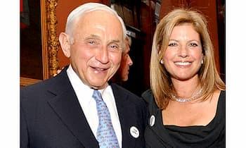 Abigail Koppel and her husband Leslie Wexner