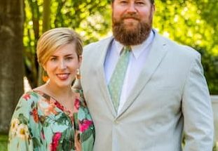 Erin Napier and her husband Ben Napier