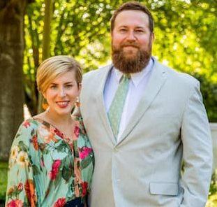 Erin Napier and her husband Ben Napier