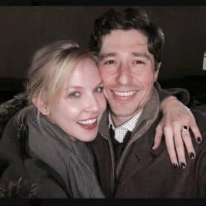 Sarah Clarke and her husband Jacob Frey