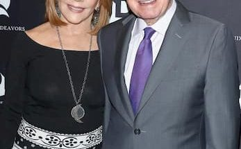 Joy Philbin and her late husband Regis Philbin