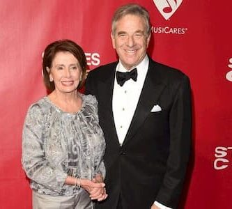 Paul Pelosi and his wife