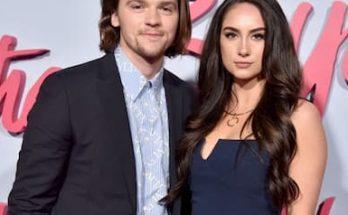 Mia Scholink and her husband Joel