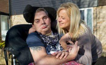 Simon Dobbin and his wife