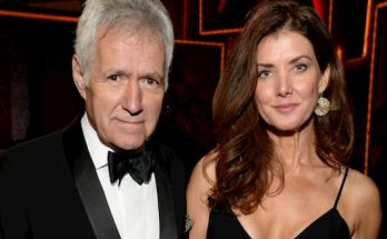 Jean Currivan Trebek and her husband Alex Trebek