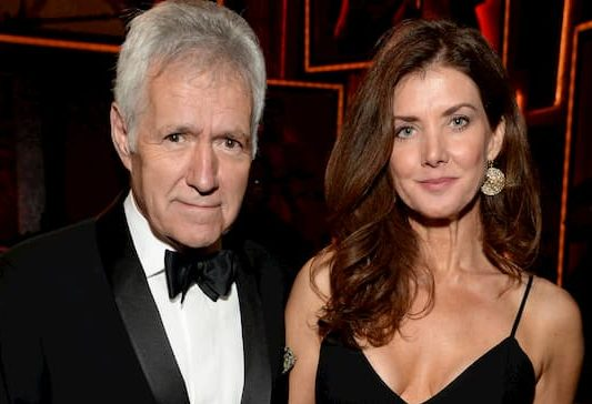 Jean Currivan Trebek and her husband Alex Trebek