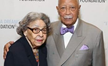 Joyce Burrows Dinkins and her husband