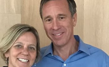 Ruth Marie Sorenson and her husband Arne Sorenson