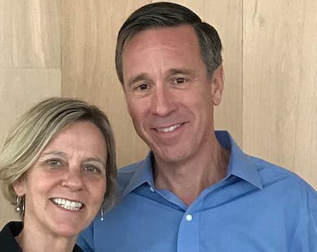 Ruth Marie Sorenson and her husband Arne Sorenson