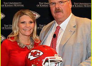Tammy Reid and her husband Andy Reid