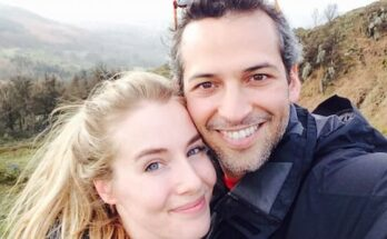Camilla Schick and her husband