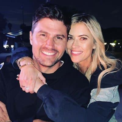 Joshua Hall and his fiance Christina Haack